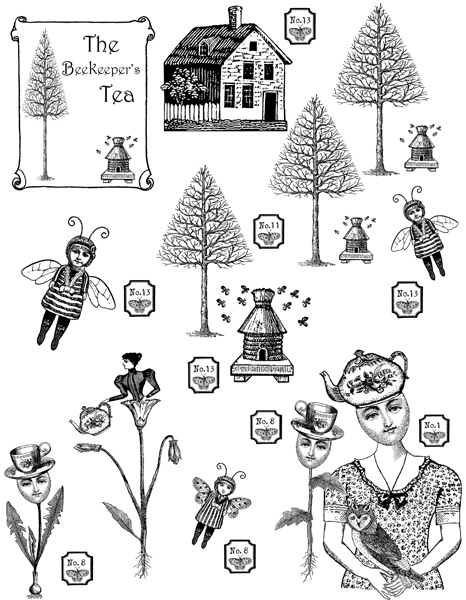 The Bee Keeper's Tea Character Constructions